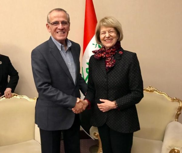 IBBC visit to Baghdad 10-12 November, Meetings held with new Government Administration & Officials Minister-of-Health-cropped-600x504