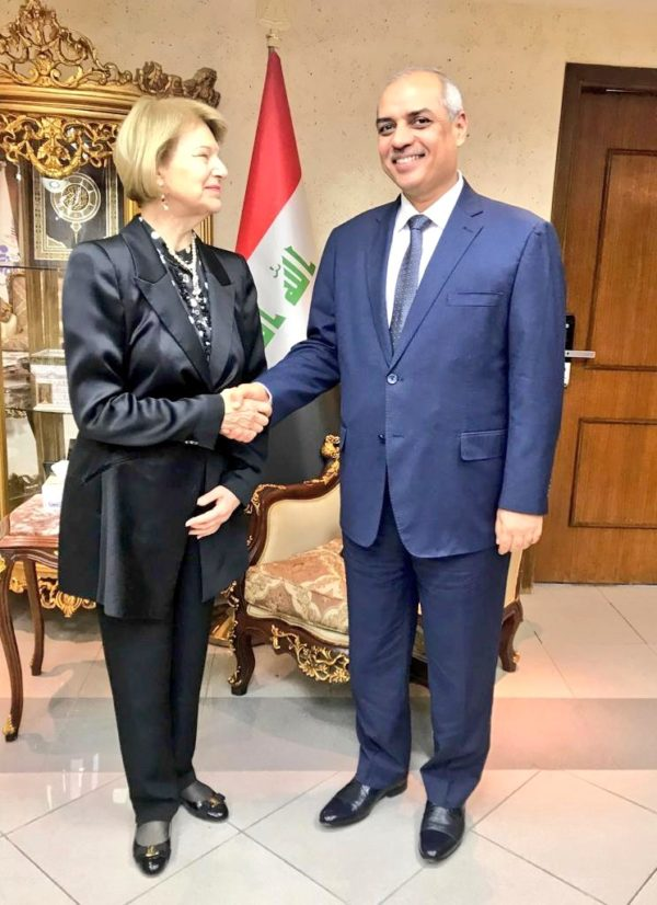 IBBC visit to Baghdad 10-12 November, Meetings held with new Government Administration & Officials MoT-600x826