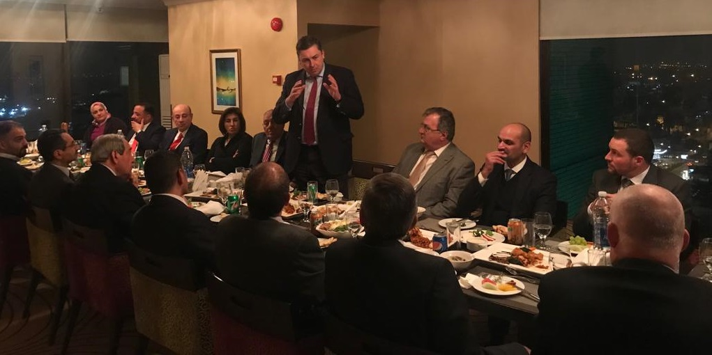 IBBC completes constructive visit to Baghdad 13-18 January Ambassador-Speaking-cropped