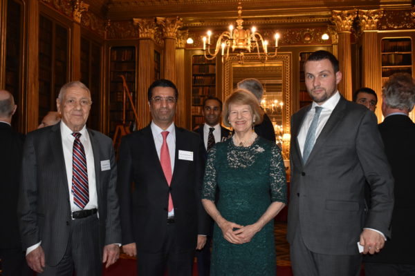 IBBC holds Christmas Party for Members and Guests, 12 December BNoW-Rasmi-Ambassador-and-Christophe-600x400