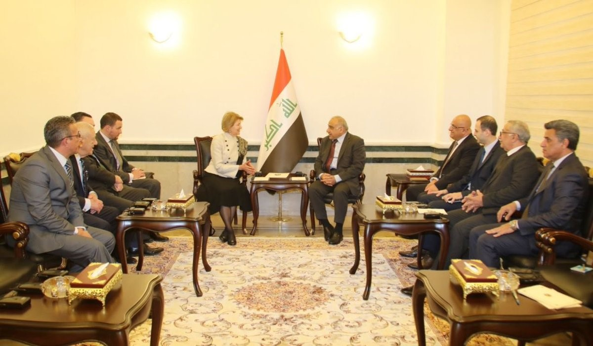 Abdul-Mahdi: Iraq's stability provides an opportunity to increase the efforts of construction and reconstruction Emma-PM