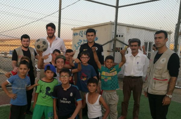 Stirling Education joins the Iraq Britain Business Council Refugee-Camp-Projects-600x395