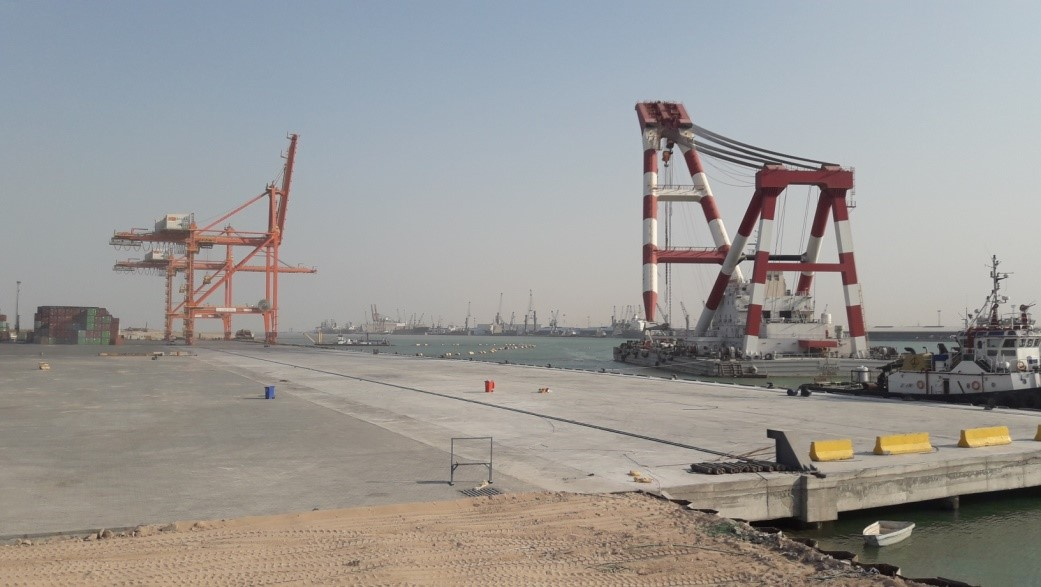 Basra Gateway Terminal nears completion of its New Deep Water Berths 25/26 at Um Qasr Basra-Gateway-Terminal
